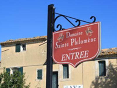 vin du domaine sainte philomene