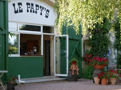 Le papy's restaurant à 15min de Curty