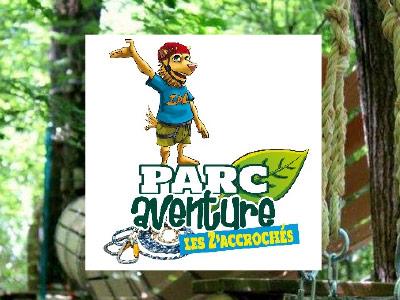 parc aventure les z'accrochés à 5 min de curty